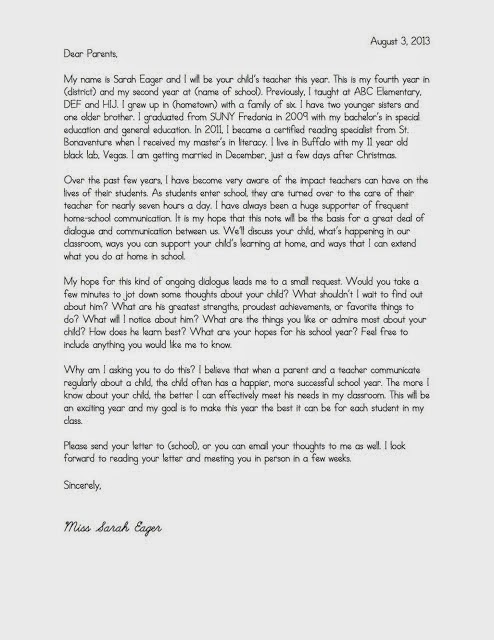 JAS_Letter_parents_for-blog Teacher Welcome Letter Middle Template on parent welcome, parent introduction, appreciation thank you, welcome back, free new, thank you, gift donation, end year,