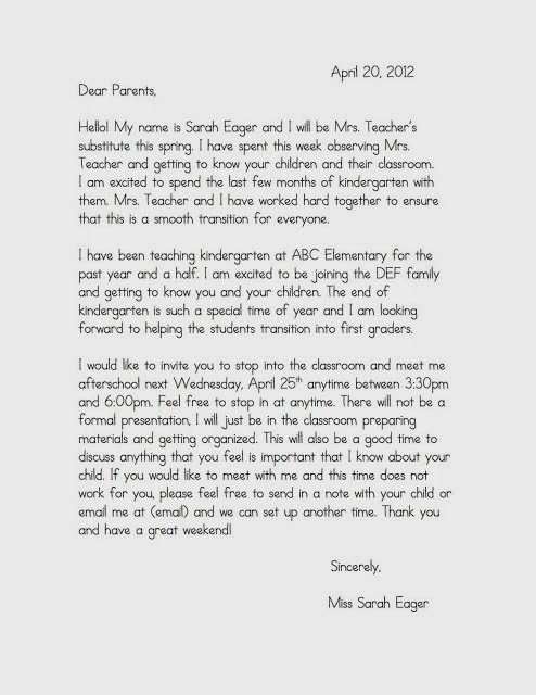 Letter To Parents From Teacher Beginning Of The Year.Welcome Letters For Parents